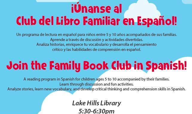 Club del libro para familias enBellevue